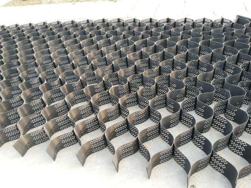 土工格室平铺形状